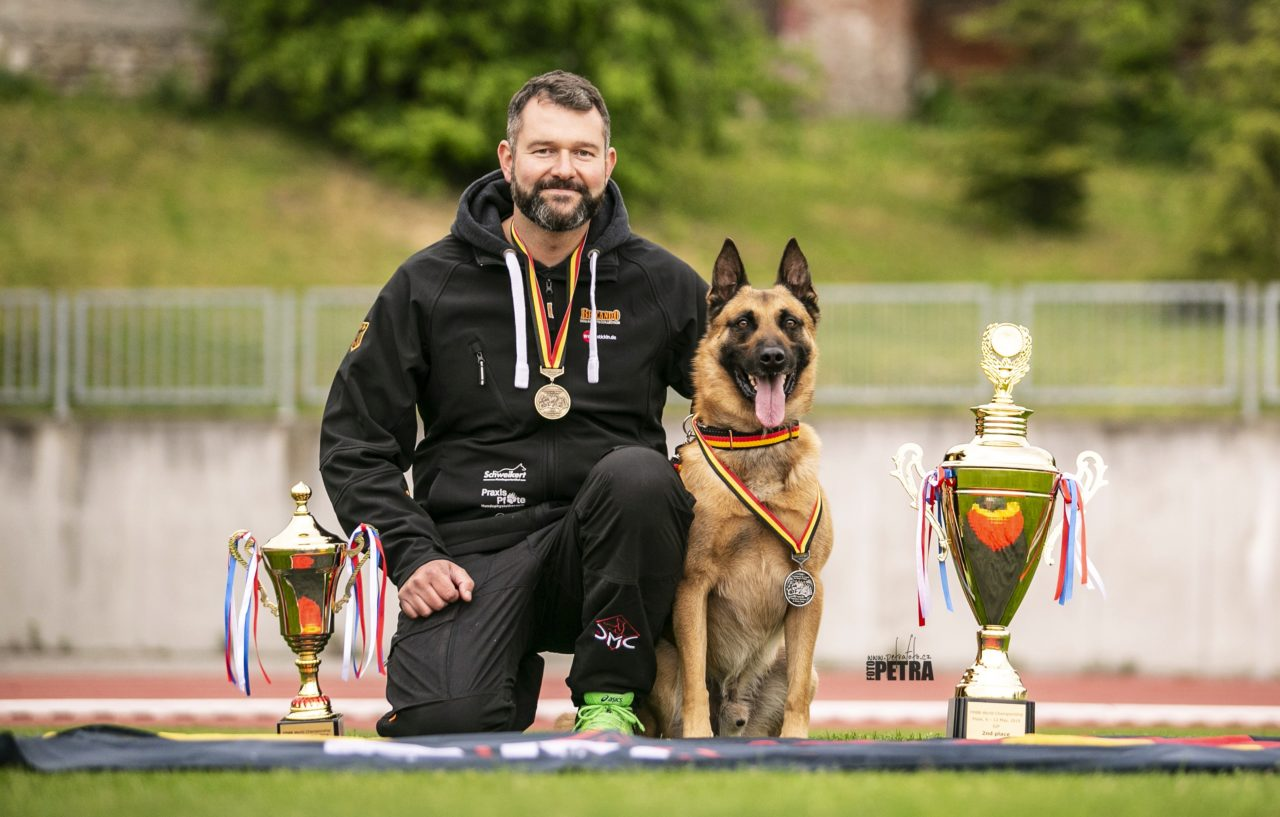 Baxx vom roten Drachen - Erfolg im Hundesport - Vizeweltmeister FMBB 2019